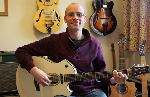 Nigel Honney-Bayes - Guitar and Ukulele Teacher in Kettering, Northants